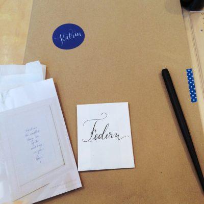 Kalligraphie Workshop Ina La Vie Salzburg4 moonstone