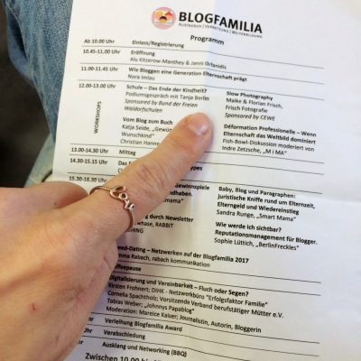Berlin und Blogfamilia, GoWithTheFlo15 moonstone