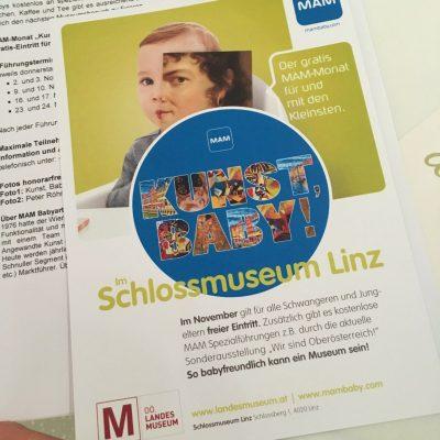 Kunst, Baby! Schlossmuseum Linz, GoWithTheFlo1 moonstone