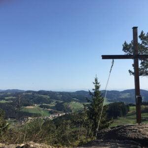 Gipfelkreuz Königswiesen, GoWithTheFlo2