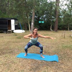 """Workout """"Ready to Surf"""" im Surfcamp in Frankreich"""