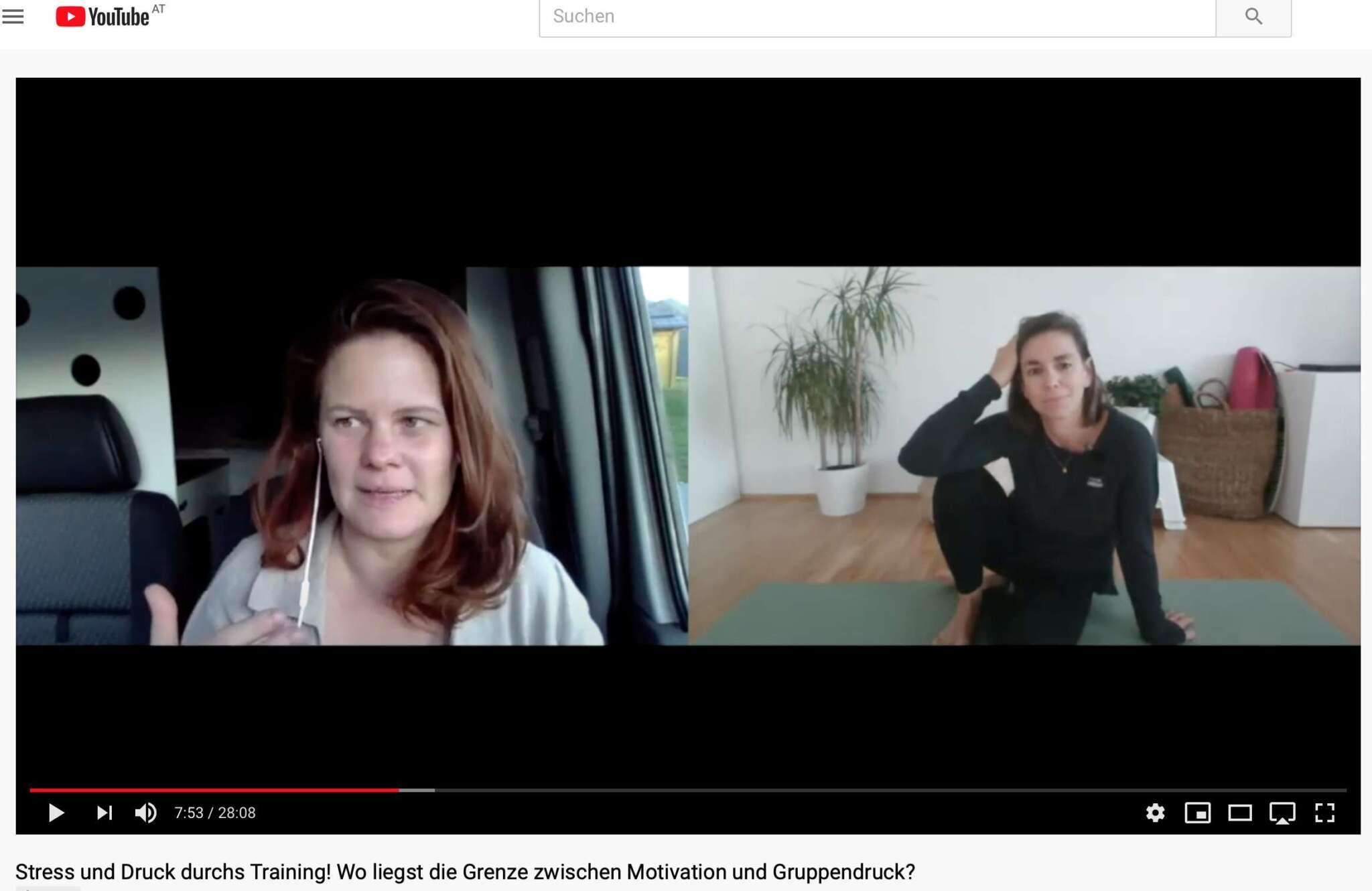 Talk mit Teresa Meikl über Motivation und Gruppendruck