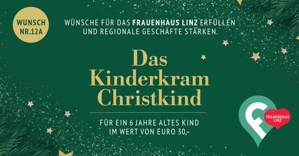 Weihnachtswünsche erfüllen fürs Frauenhaus 2020, Kinderkram