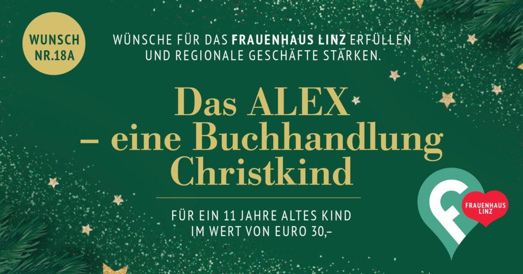 Weihnachtswünsche erfüllen fürs Frauenhaus 2020, Der ALEX