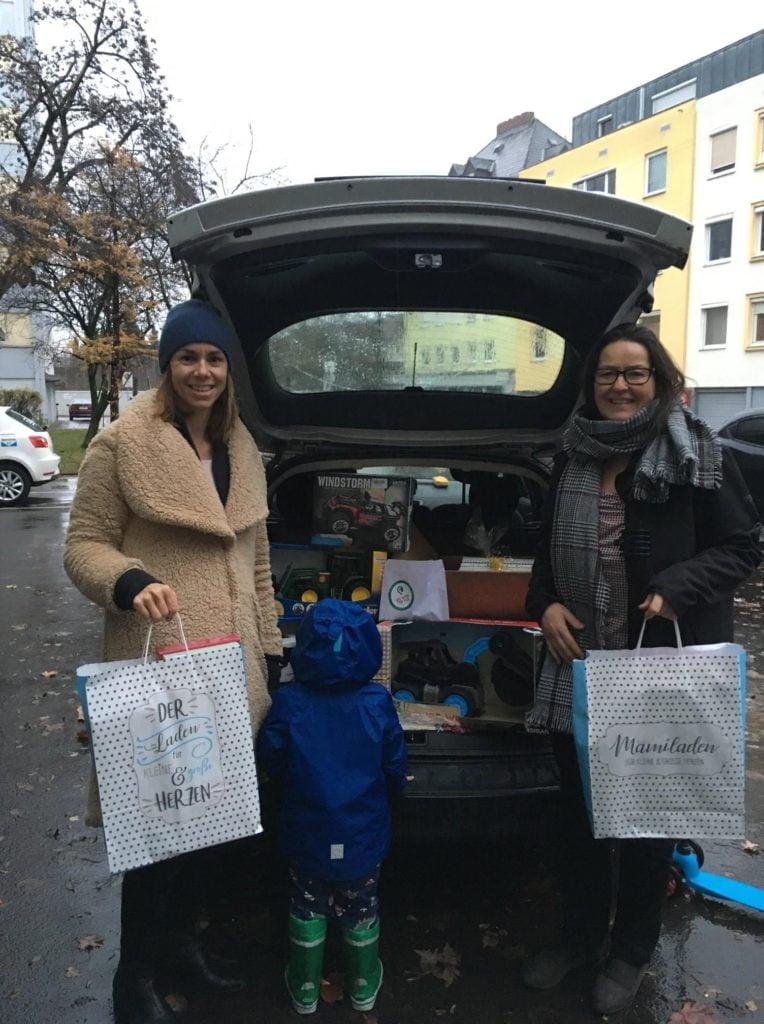 Weihnachtswunsch Aktion fürs Frauenhaus Linz 2019