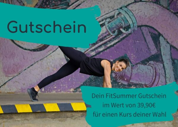 Gutschein Fit Summer